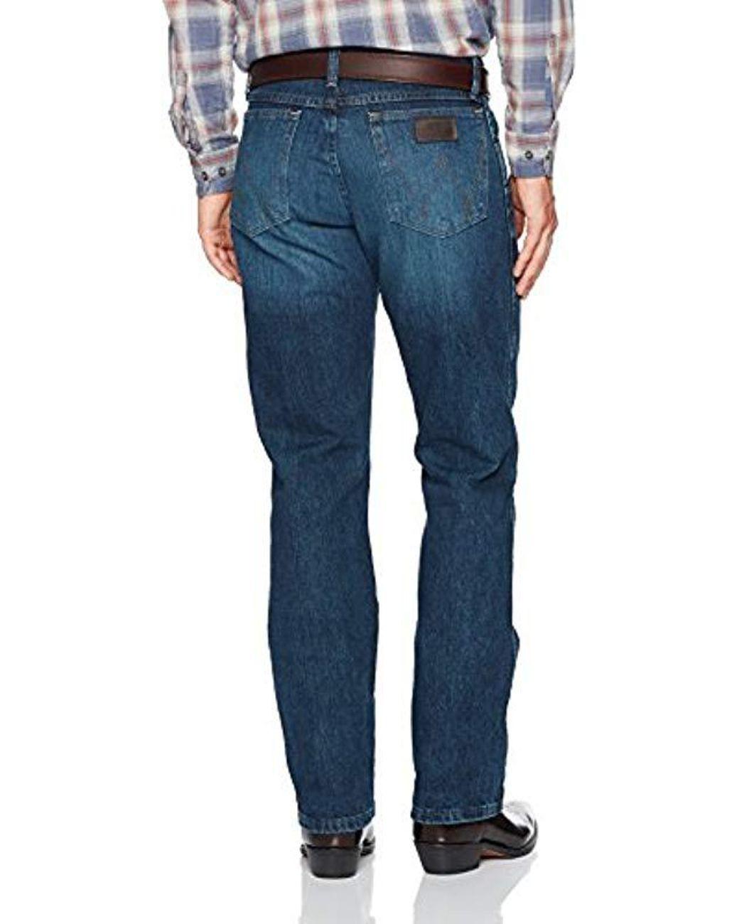 Wrangler Mens PBR Vintage Boot Cut Jean