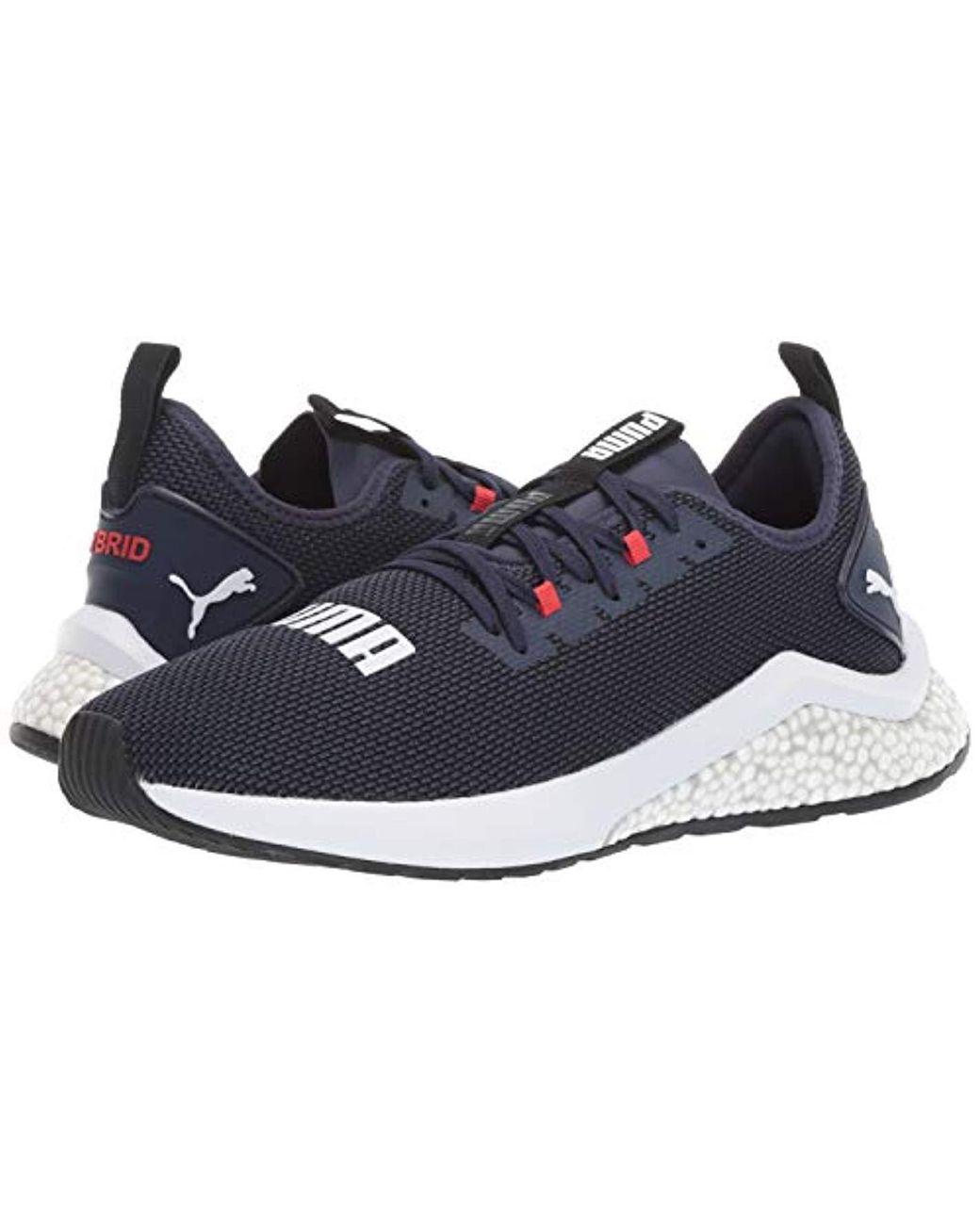 PUMA Multicolor Hybrid Nx Sneaker, Peacoat high Risk Red White, 13 M Us for Men Lyst