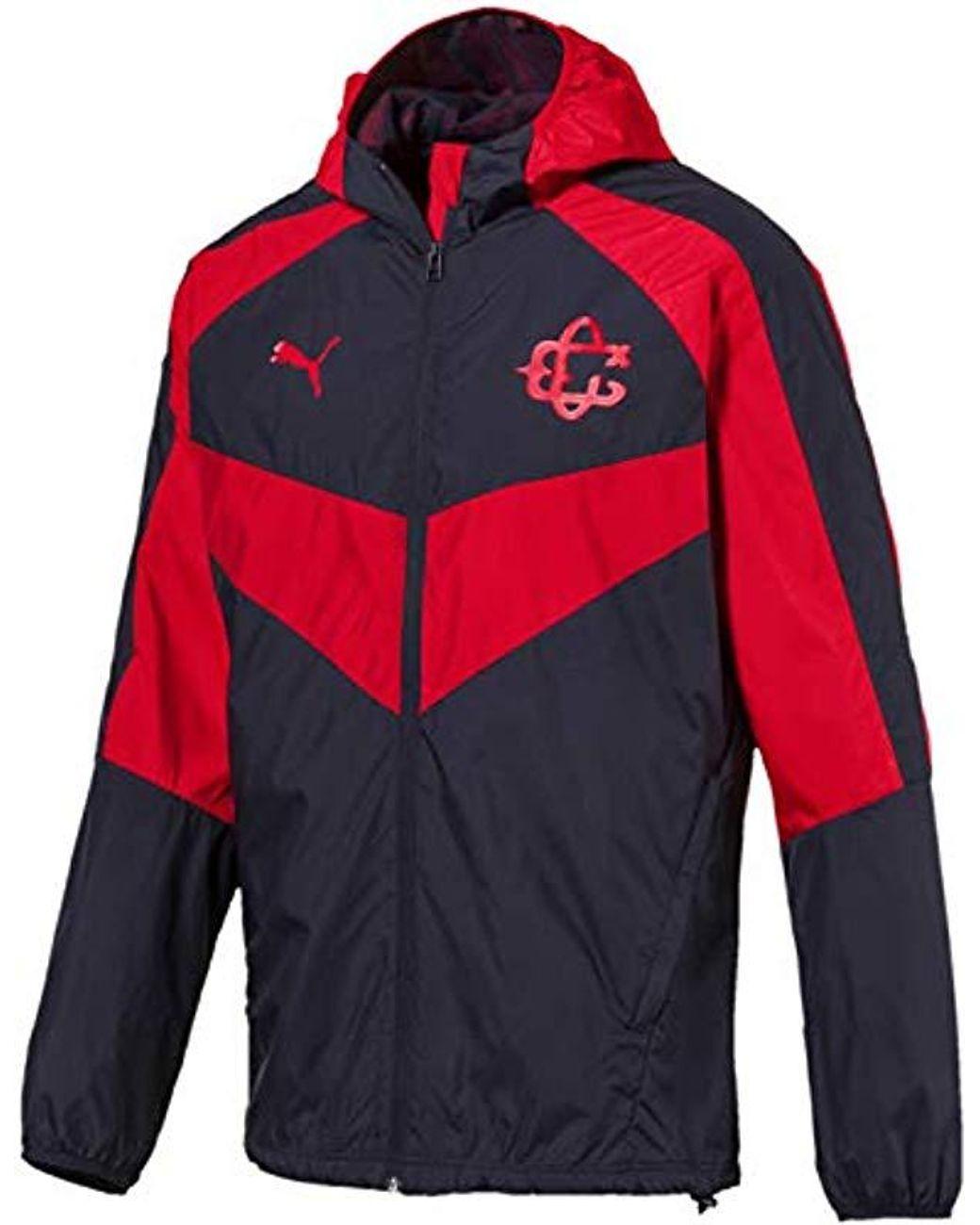 dcc5caa4b43a3 Men's Red Chivas Light Weight Jacket