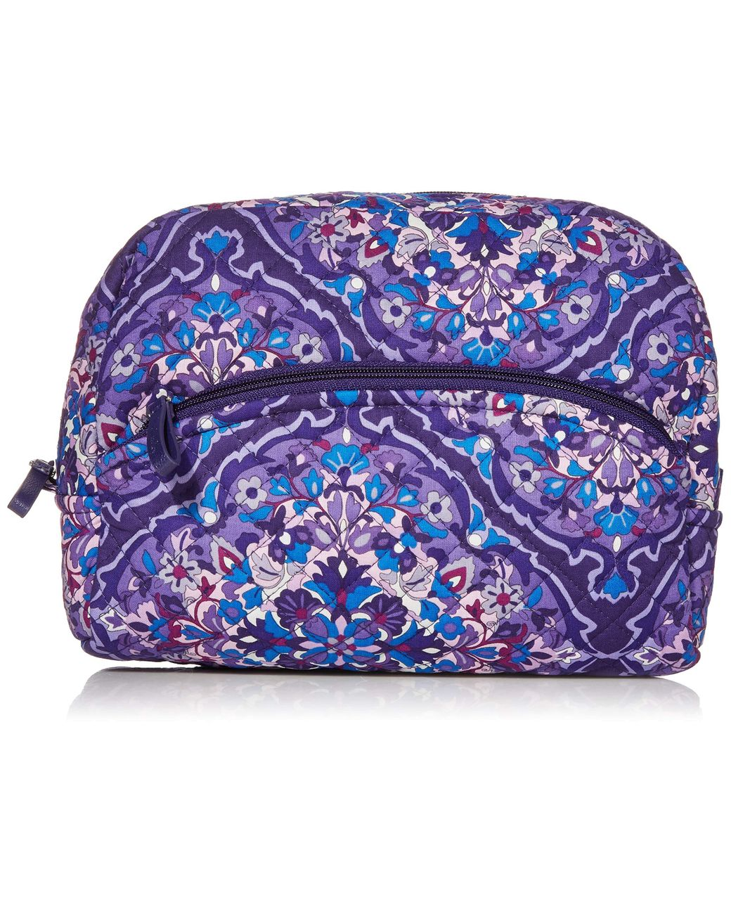 Vera Bradley Signature Cotton Large Cosmetic Makeup Bag In Blue Save 50 Lyst