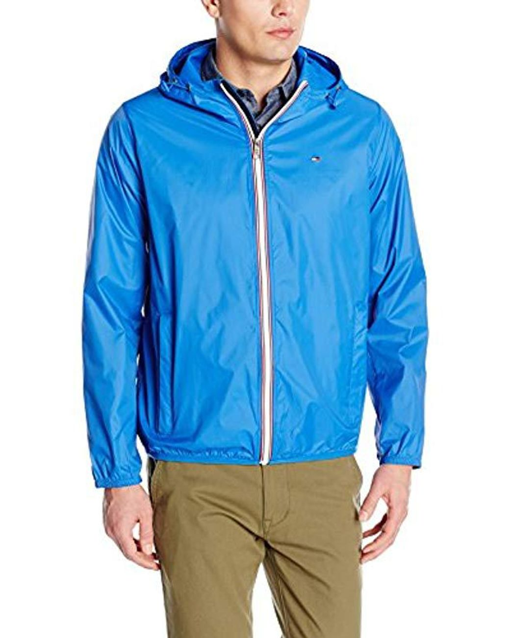 order online outlet store sale fresh styles Tommy Hilfiger Synthetic Lightweight Hooded Packable ...