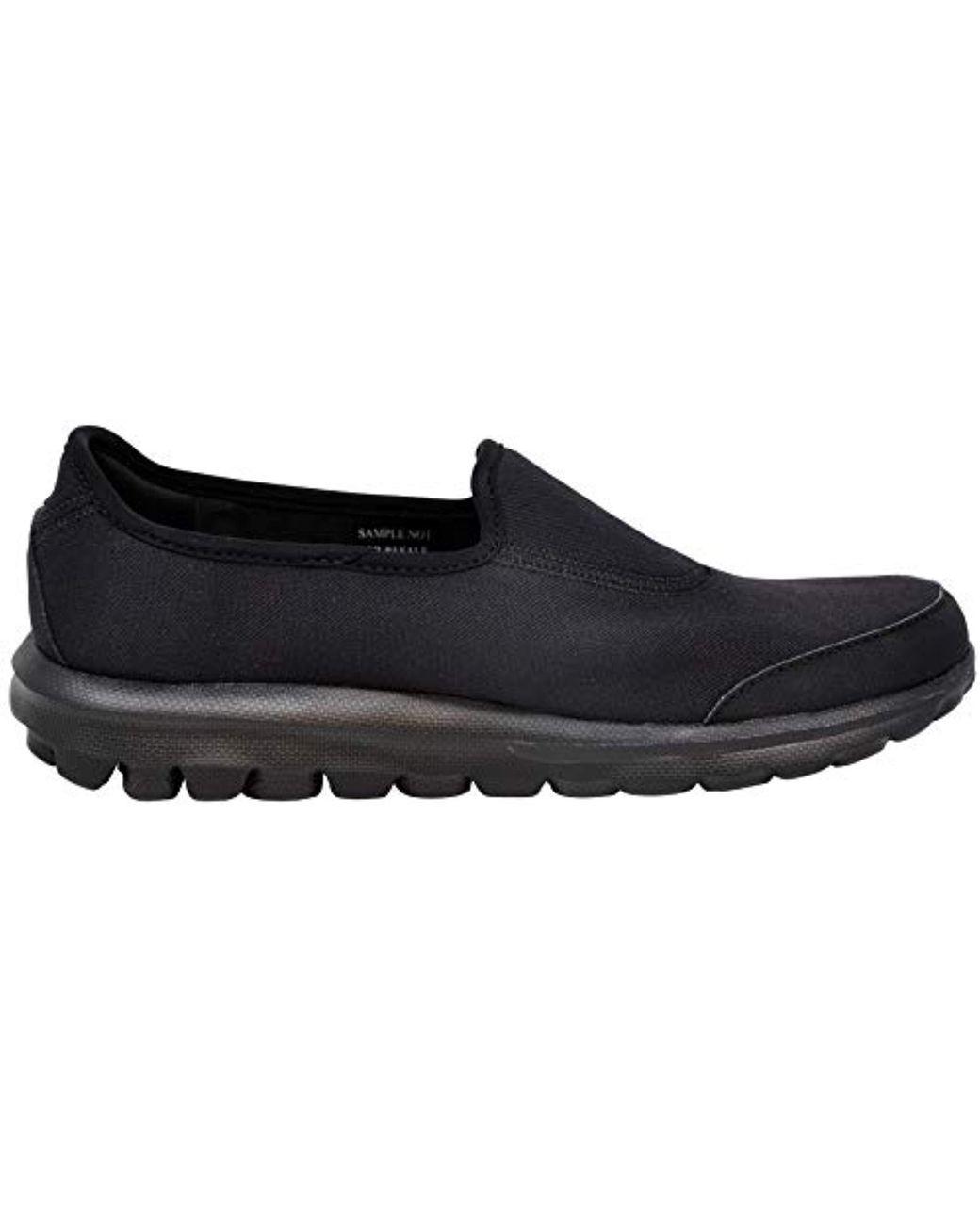 Women's Black Gowalk Impress Sneakers