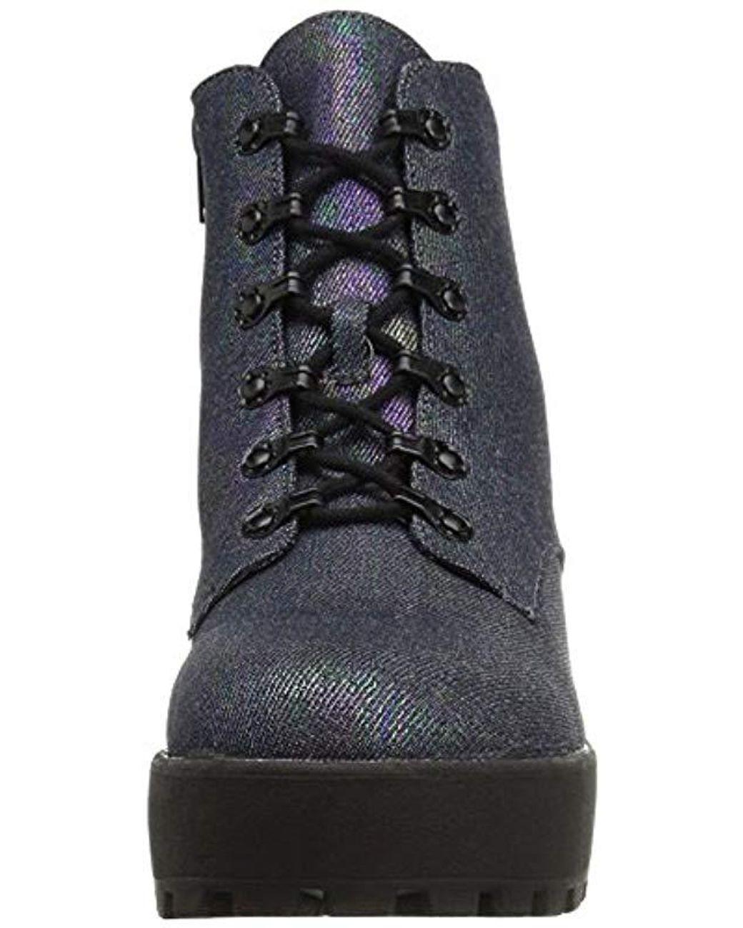 bbc0a52e5ebdf Women's Black Clyden Gogo Cotton Ankle Bootie