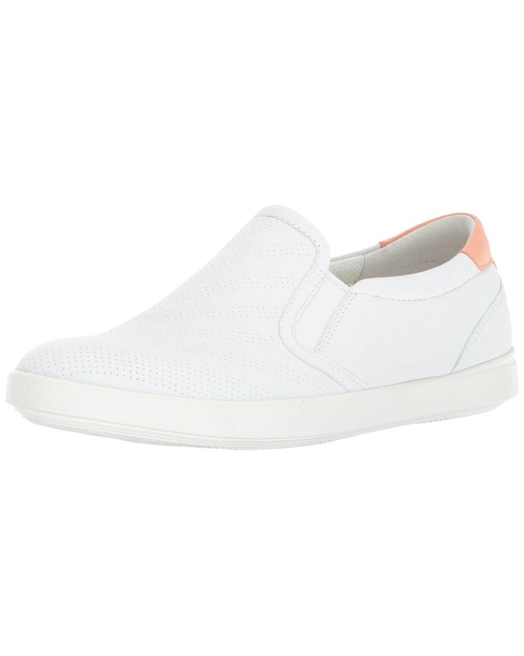 Ecco Leather Aimee Perforated Slip On