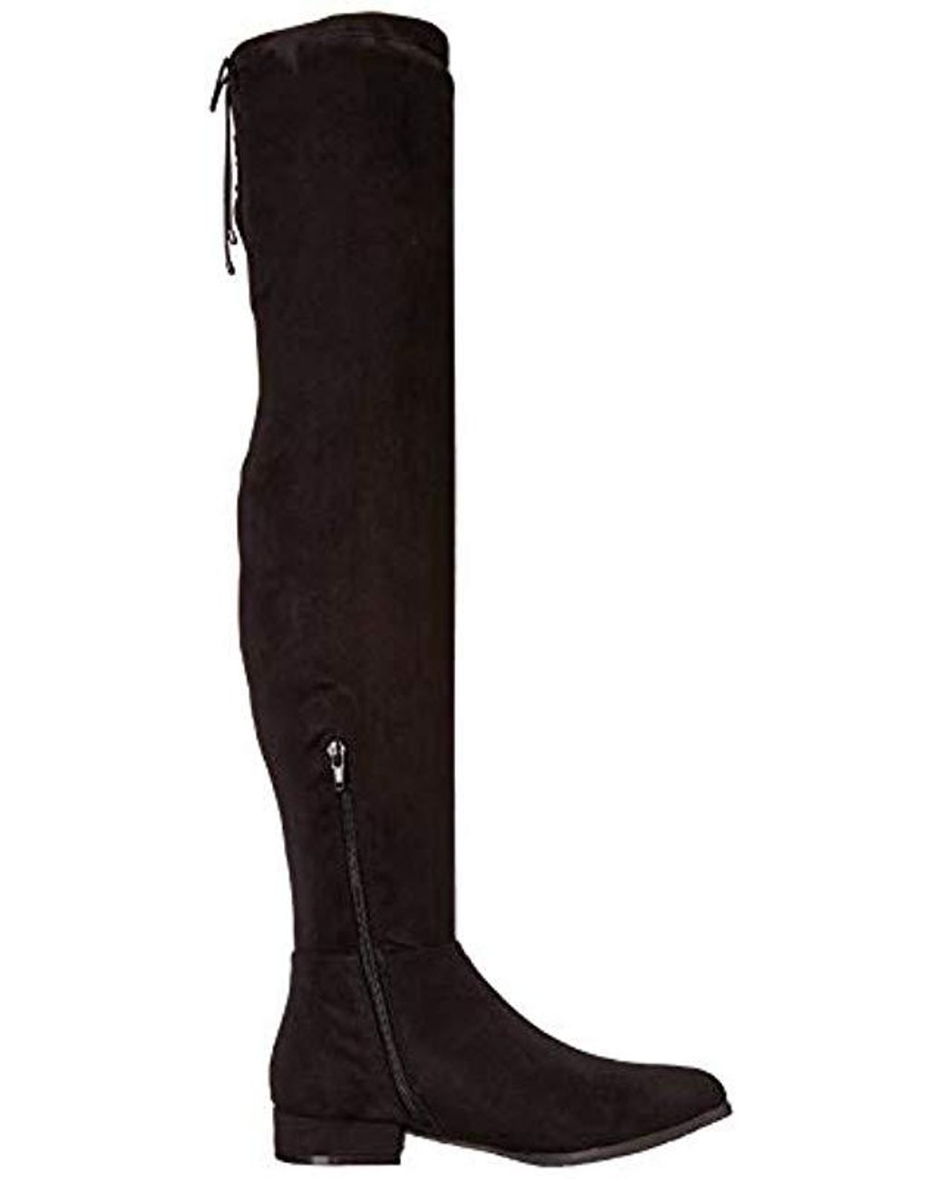 4572be84861f Chinese Laundry Richie Over The Over The Knee Boot in Black - Save 35% -  Lyst