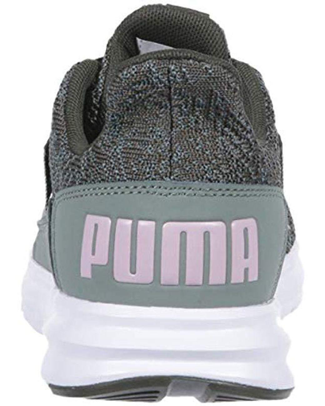 Save 25Lyst Interest Puma Knit Street Sneaker Enzo NX8nZkP0wO