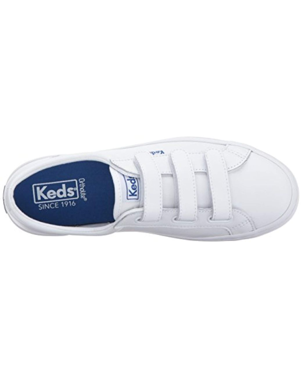3e095da18ec8c Lyst - Keds Tiebreak Leather Fashion Sneaker in White - Save 56%