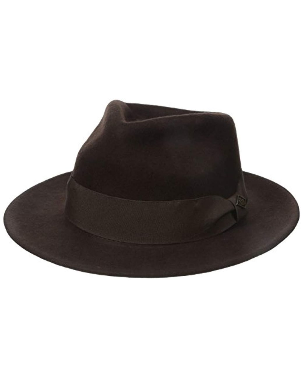 0093f9130 Men's Brown F. Fratelli Fedora