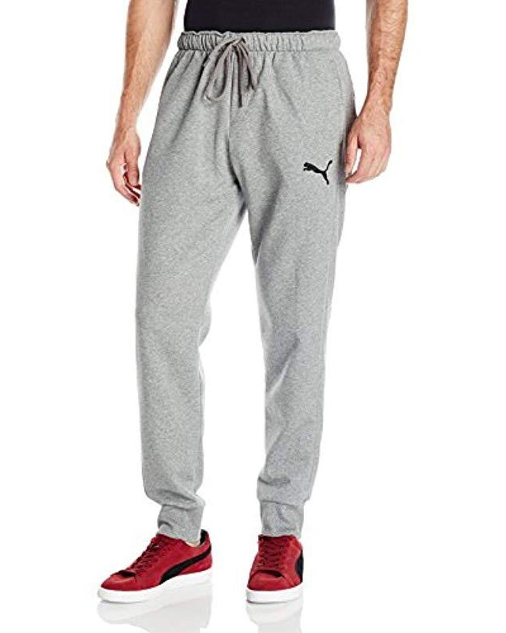 6df20703db469 Men's Gray P48 Core Pants Fleece Cuffed Bottom