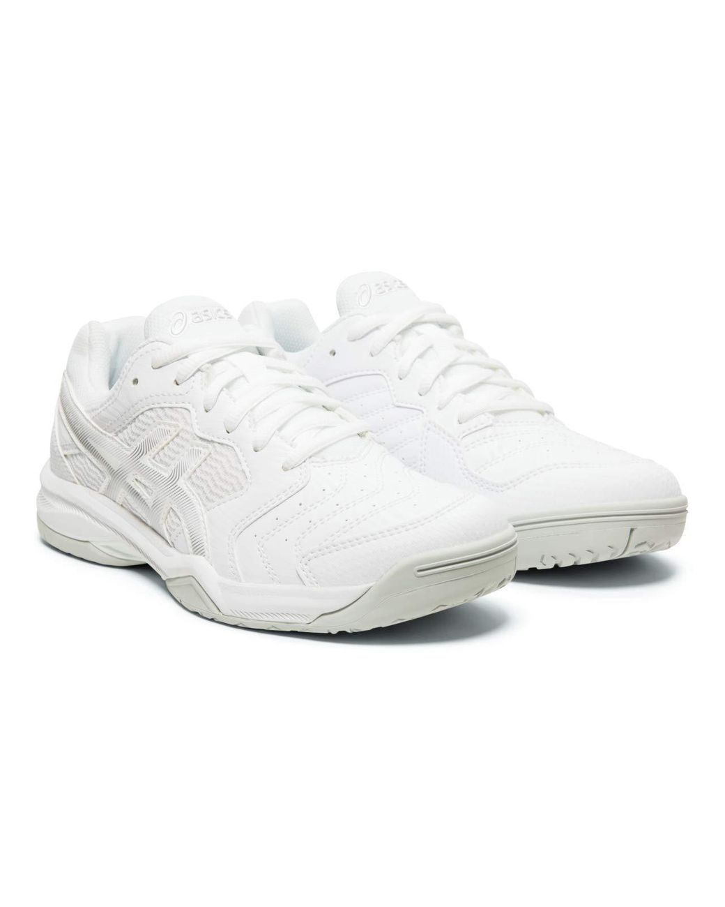 Asics Mens Gel-Dedicate 5 Tennis Shoes Yellow Sports Breathable Trainers