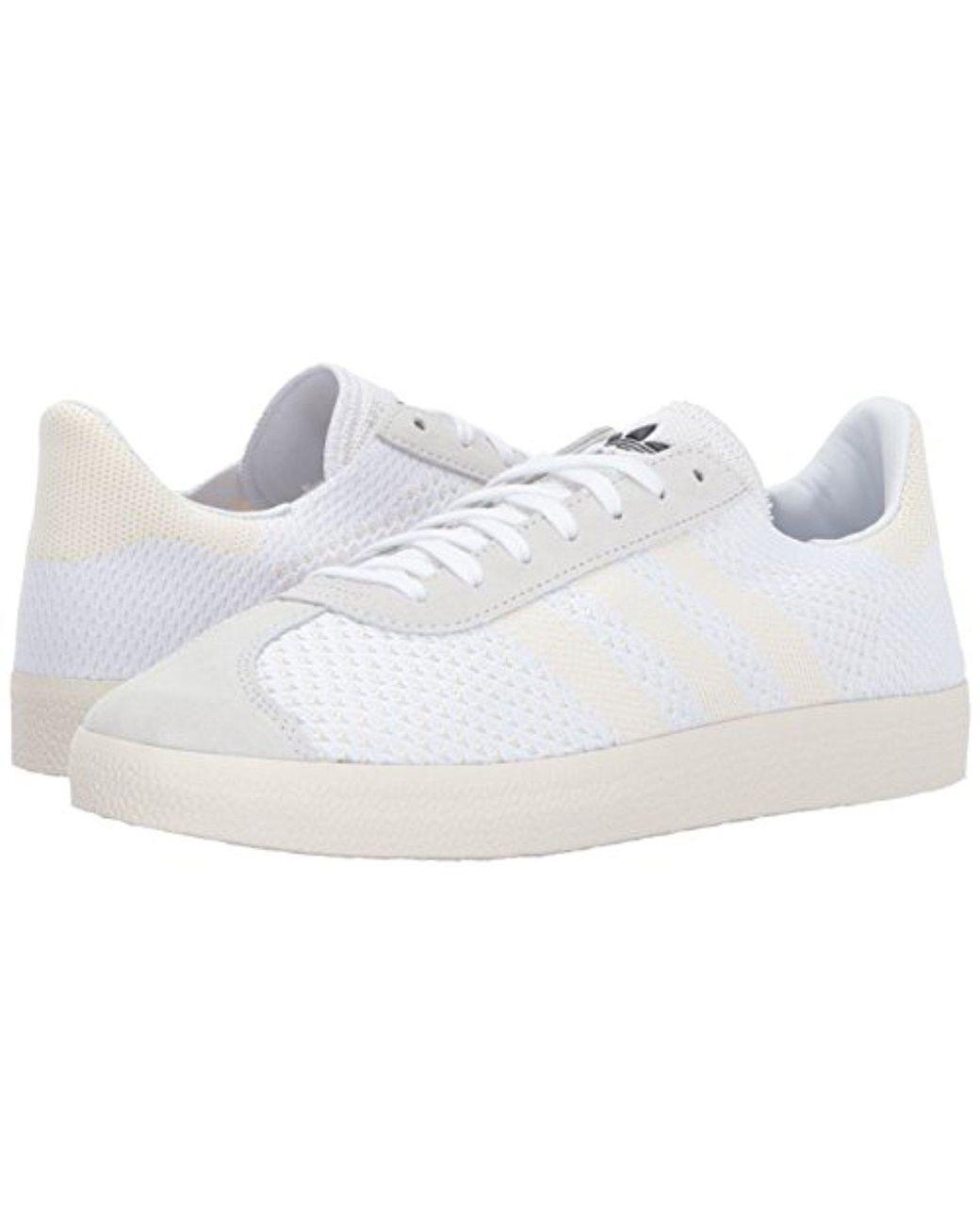 taille 40 44950 5dbf5 Men's White Gazelle Pk Sneaker