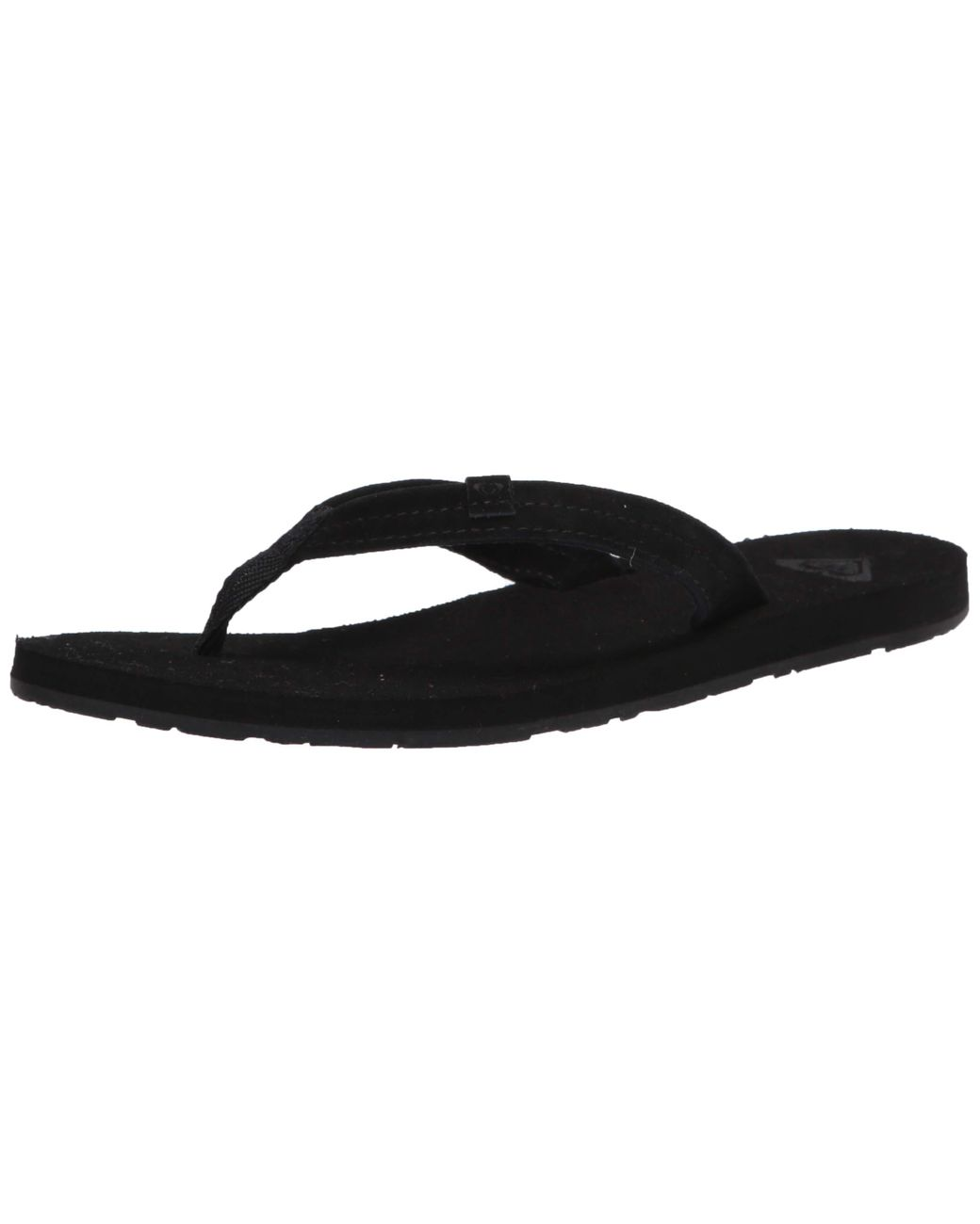 Roxy Womens Avila Suede Flip Flop Carver Sandal Sport Slide Sandal