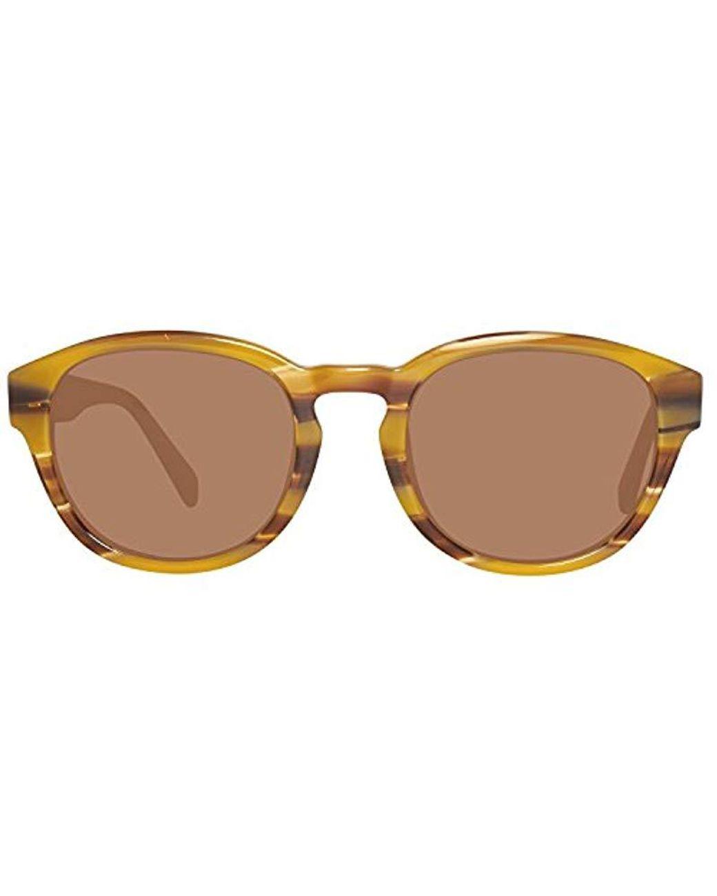 GU6856 5245E Gafas de sol, Marrón, 52 para Hombre Guess de