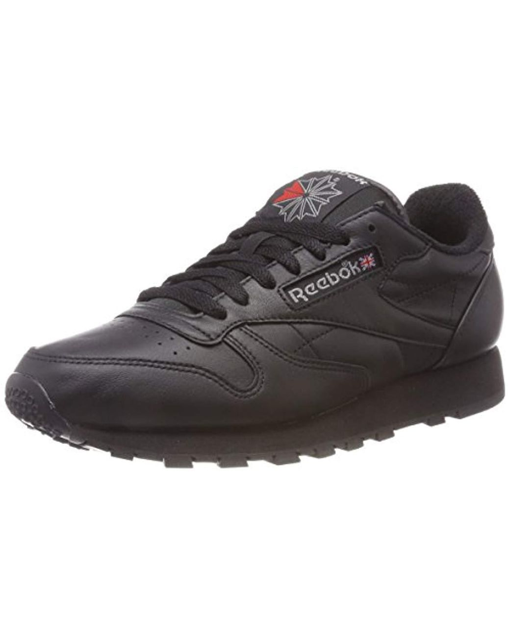 185e80b9f7f6b Reebok Classic Leather Archive Trainers in Black for Men - Save 58 ...