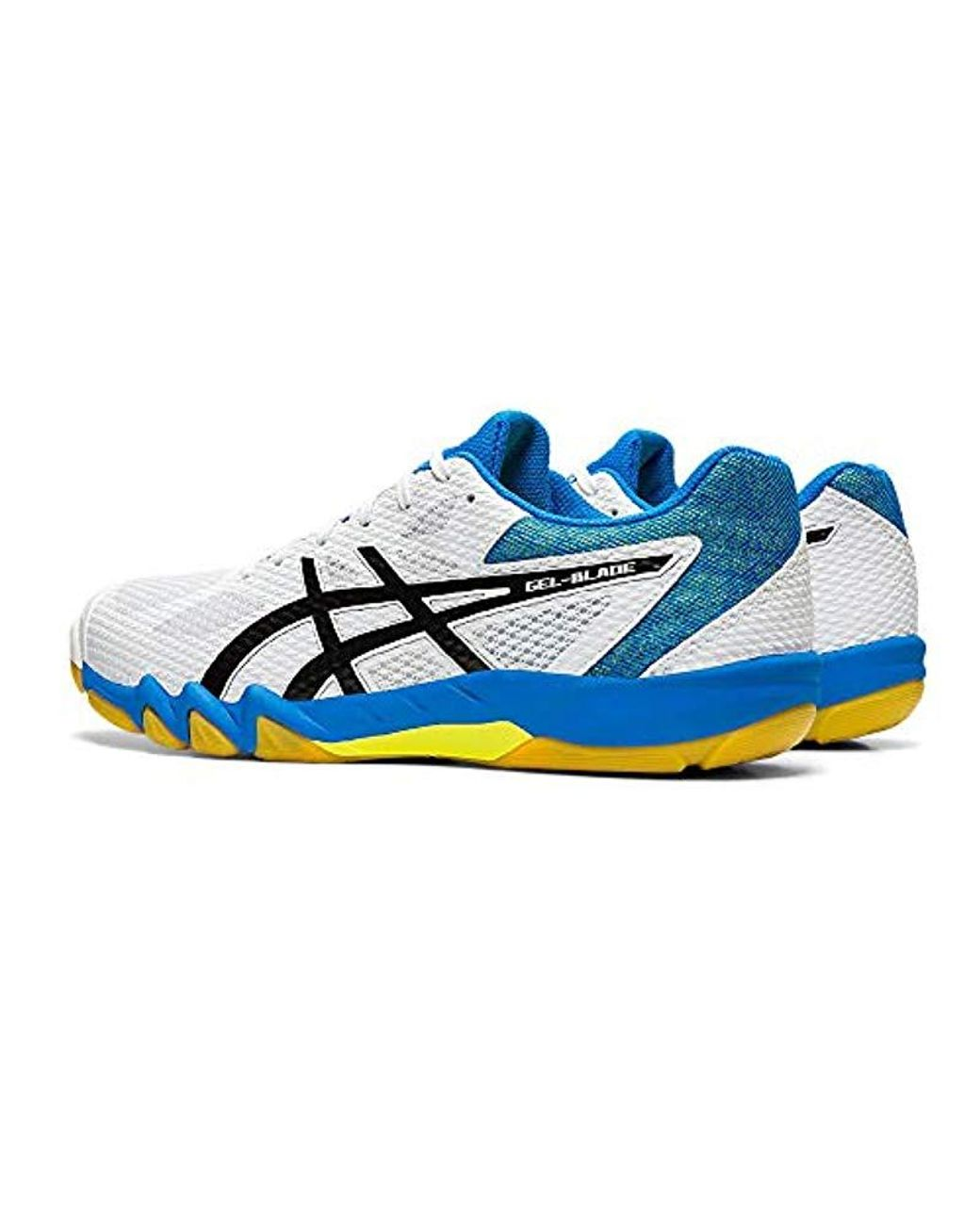 Men's White Gel blade 7 1071a029 100 Squash Shoes