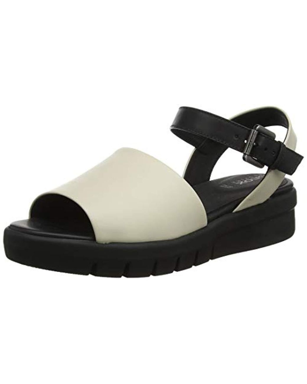 Geox D Wimbley A Ankle Strap Sandals in Black Lyst