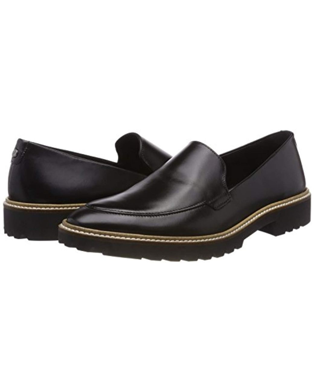 3c962e15 Women's Black Incise Tailored Loafers