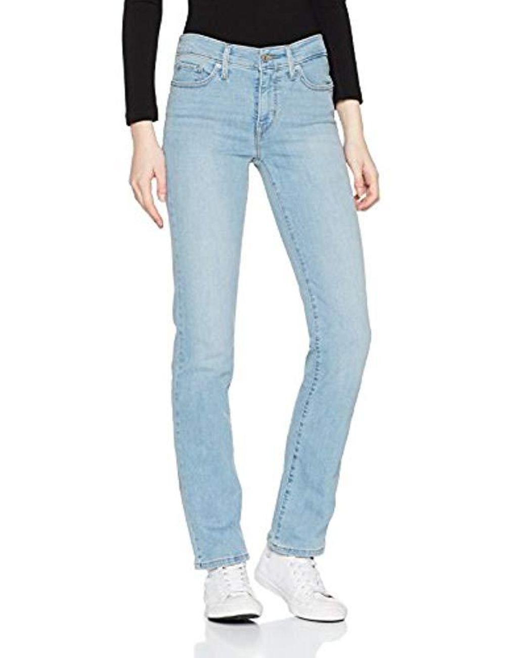 free shipping c1d14 863dd Damen Jeans 314 Straight Fit in blau