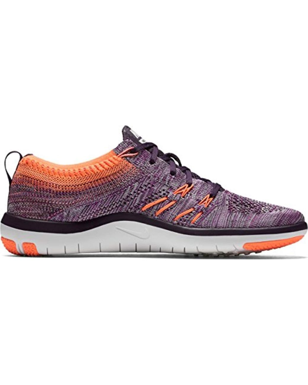 Nike Wmns Free Tr Focus Flyknit, Hyper Voltbleached Lilac
