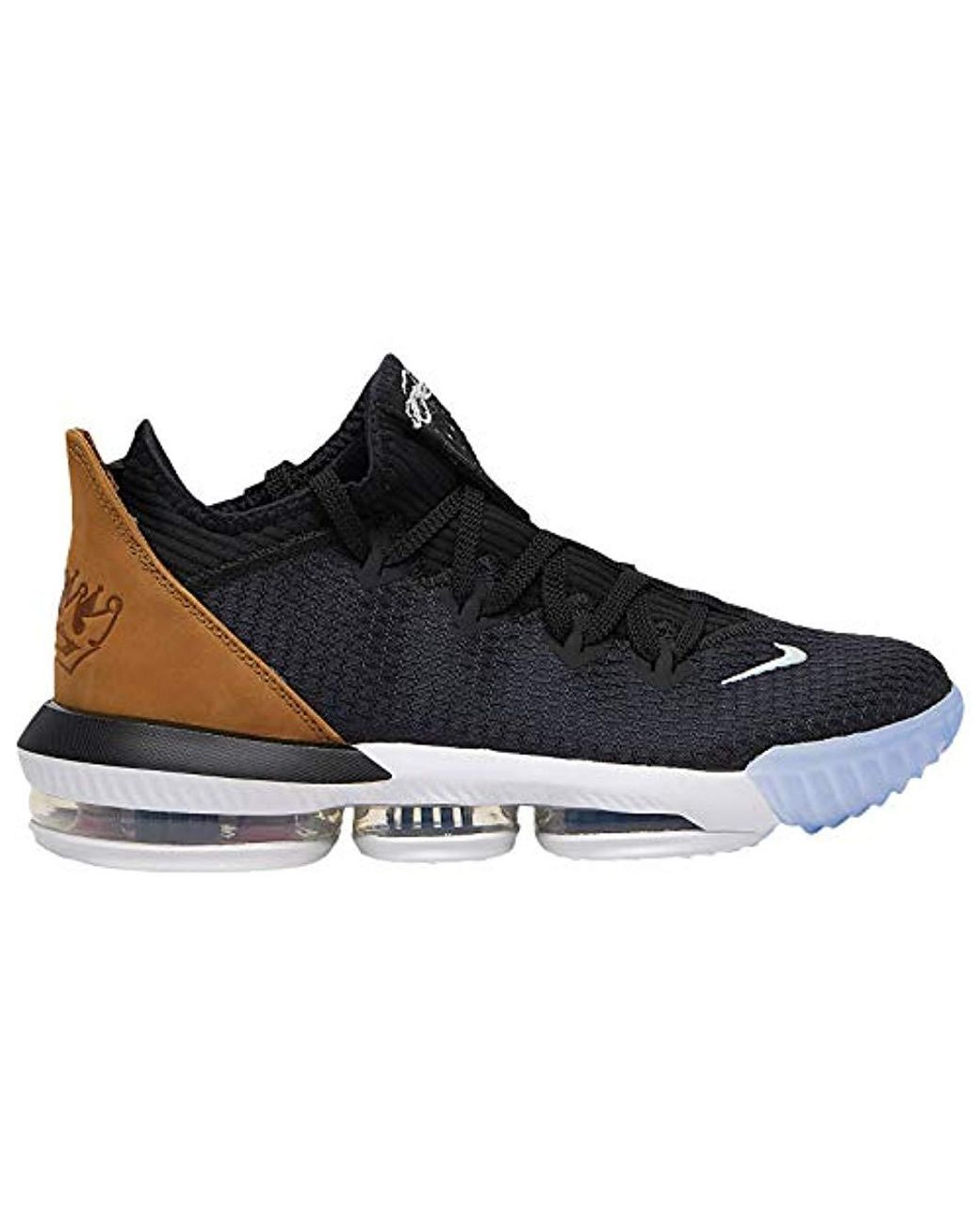 outlet store 81ba2 137d7 Nike Lebron 16 Low Synthetic Basketball Shoes in Black for ...