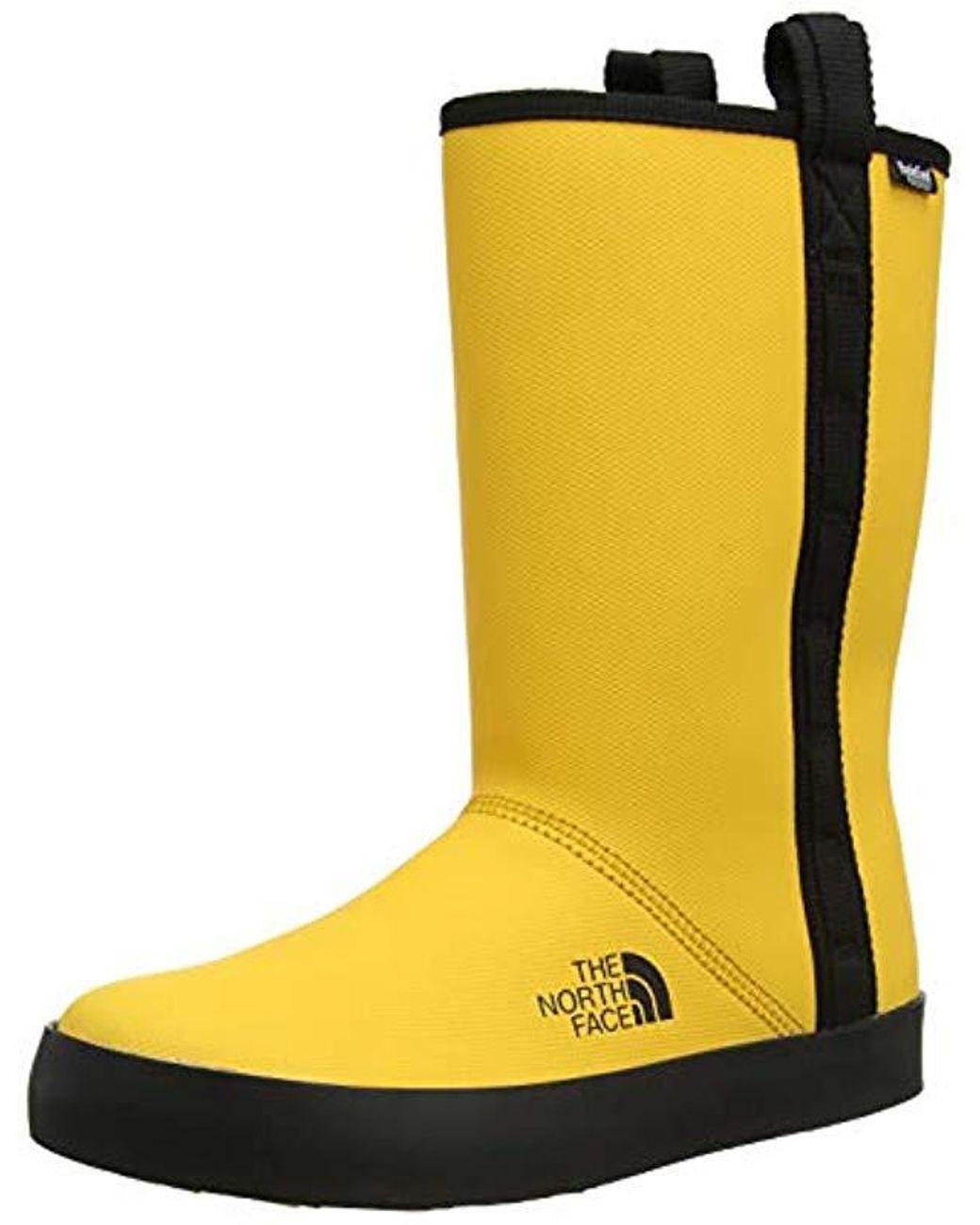 innovative design 3ac25 1bc5c Damen Base Camp Rain Shorty Gummistiefel in gelb