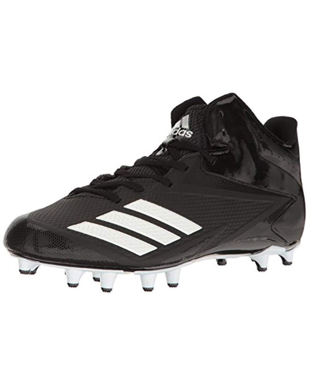 b1b0d92cb9d Lyst - adidas Freak X Carbon Mid Football Shoe in Black for Men
