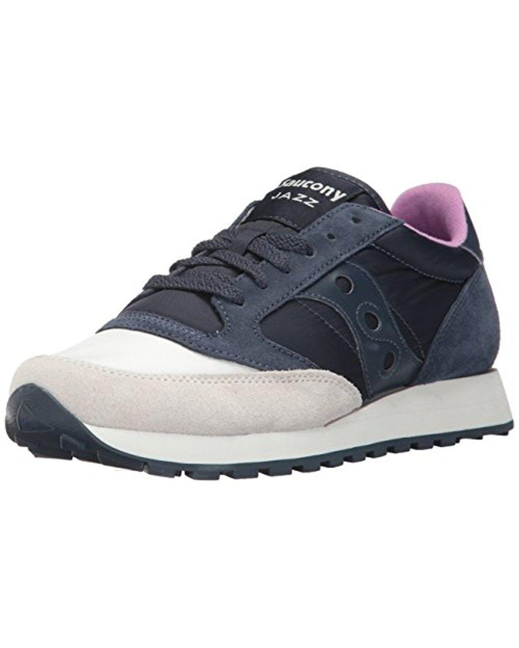 premium selection aa799 377ba Women's Blue Originals Jazz Original Sneaker, Coral Cream, 7.5 Medium Us
