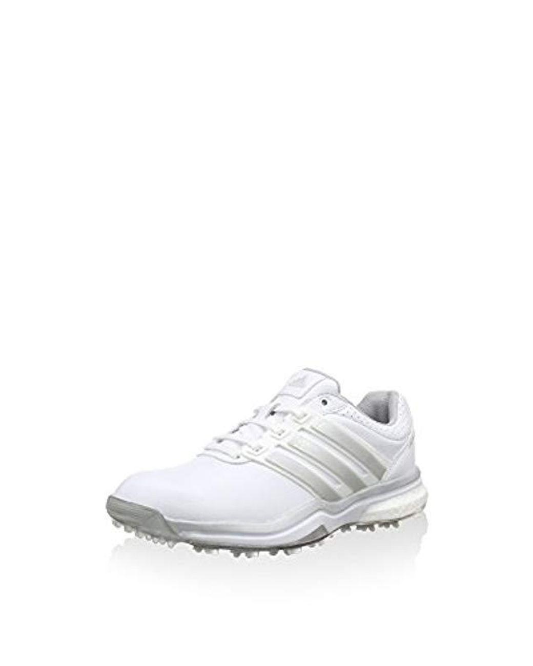 8ec074033b0bd Women's White Adipower Boost 2 Golf Shoes
