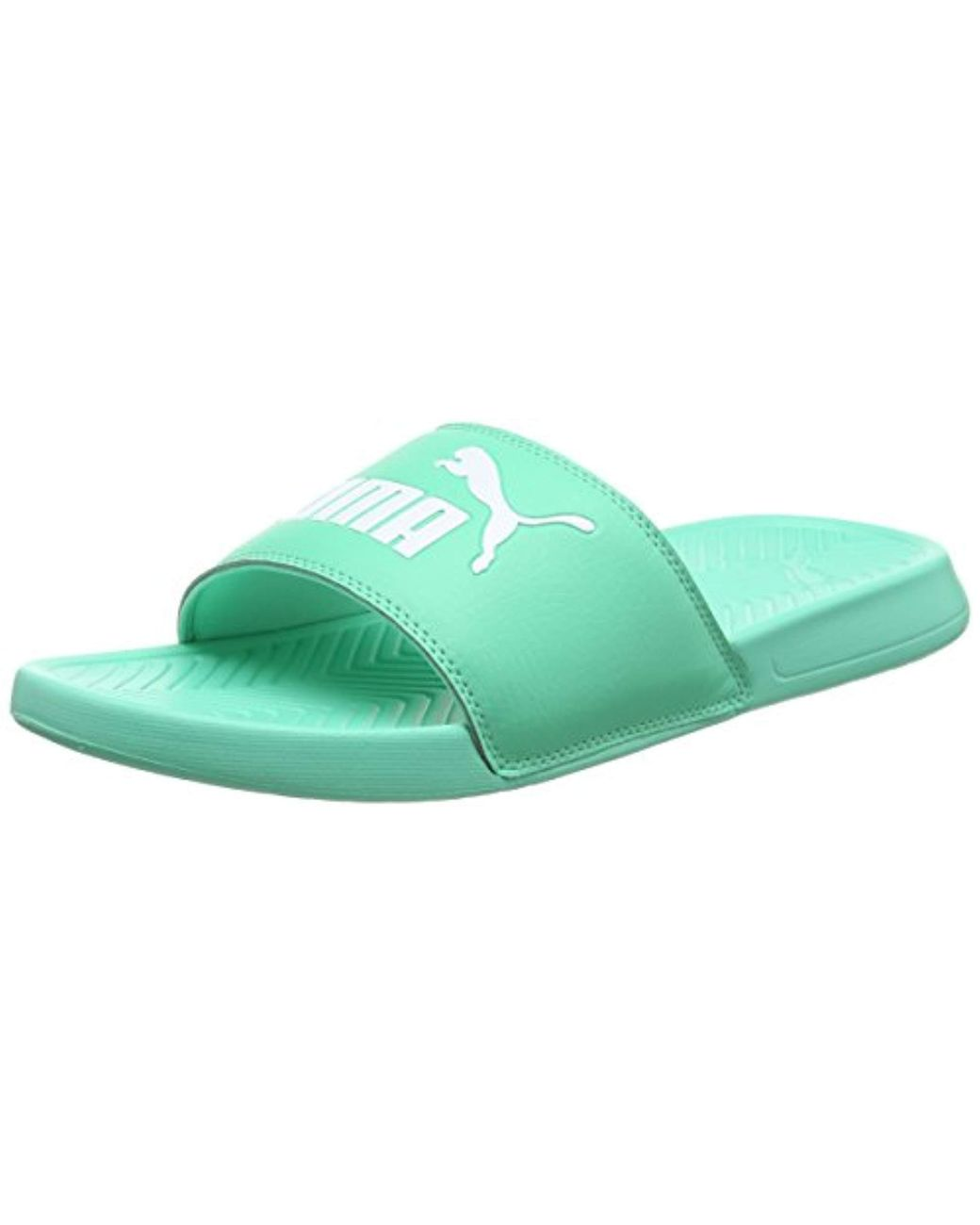 b1bdee7c477b PUMA Unisex Adults  Popcat Beach   Pool Shoes in Green - Save 11% - Lyst