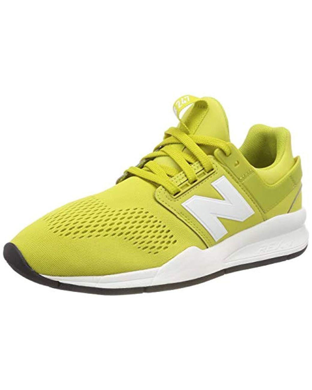 Herren 247v2 Sneaker in gelb