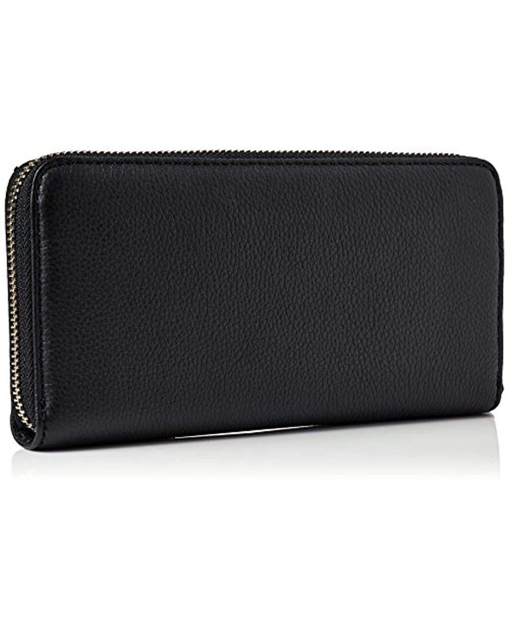 Basic Leather Lrg Za Wallet, Portefeuilles femme de coloris noir