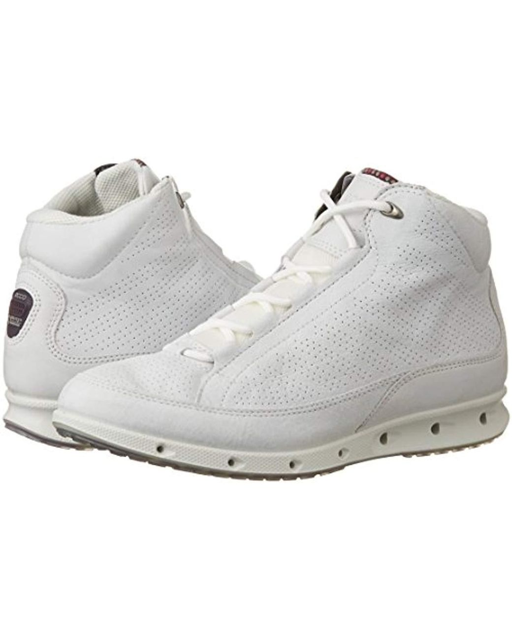 new product 100% high quality promo codes Ecco Leather Cool Multisport Outdoor Shoes in White - Lyst
