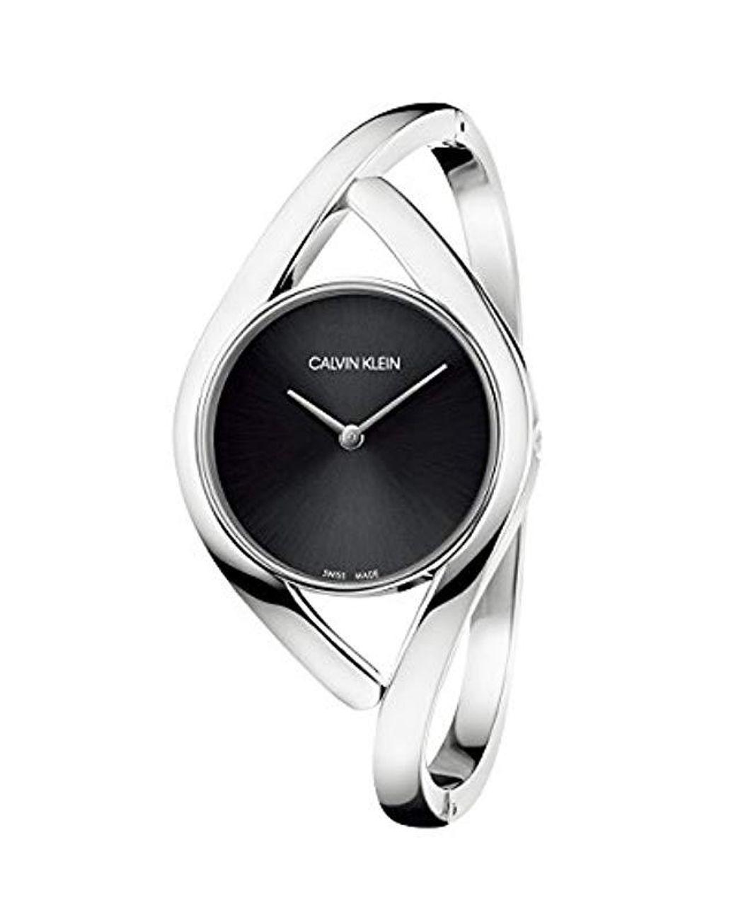 Reloj Analógico para Mujer de Cuarzo con Correa en Acero Inoxidable K8U2S111