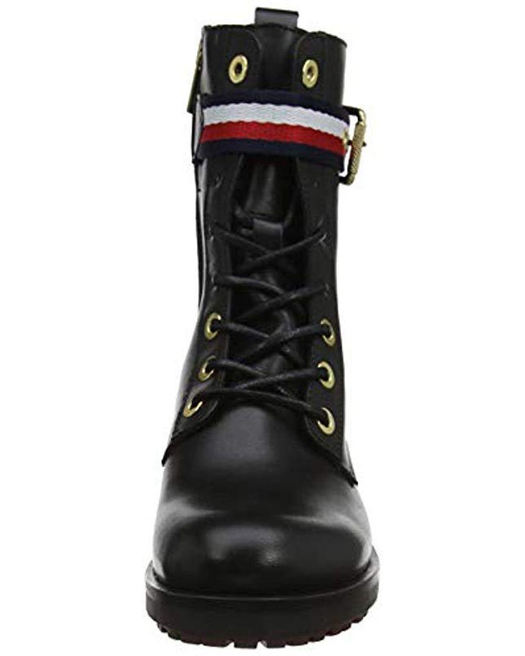 Boot Hilfiger Belt Tommy Corporate Biker 80Nnwvm