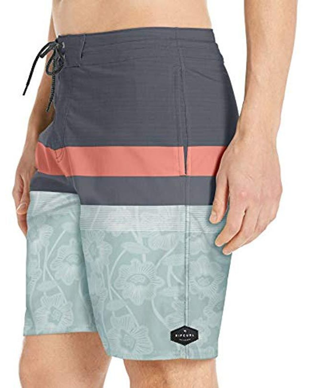 Rip Curl Mens Rapture Layday Side Pocket Swim Board Shorts