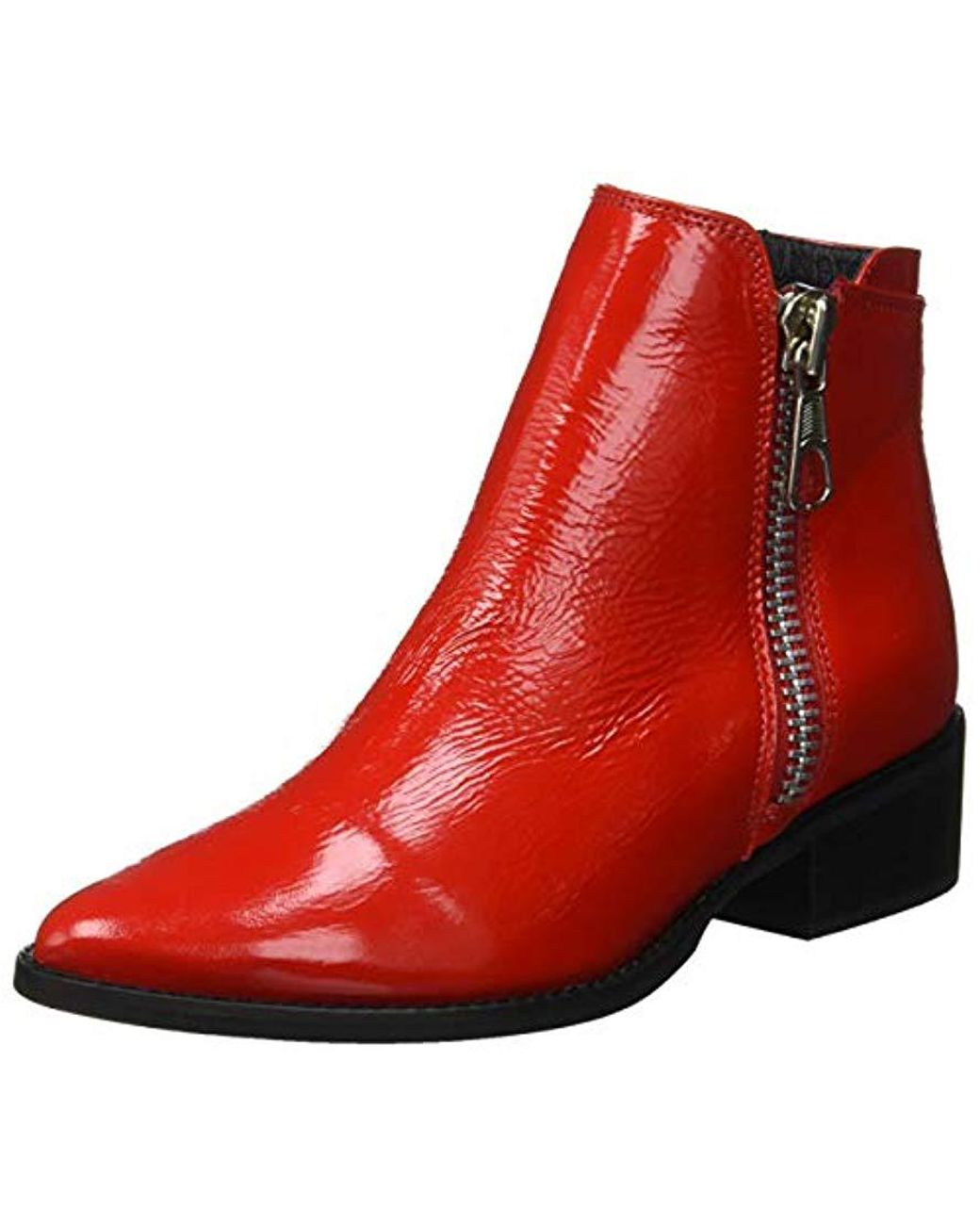 520373d678d Steve Madden  s Annie Ankle Boots in Red - Lyst
