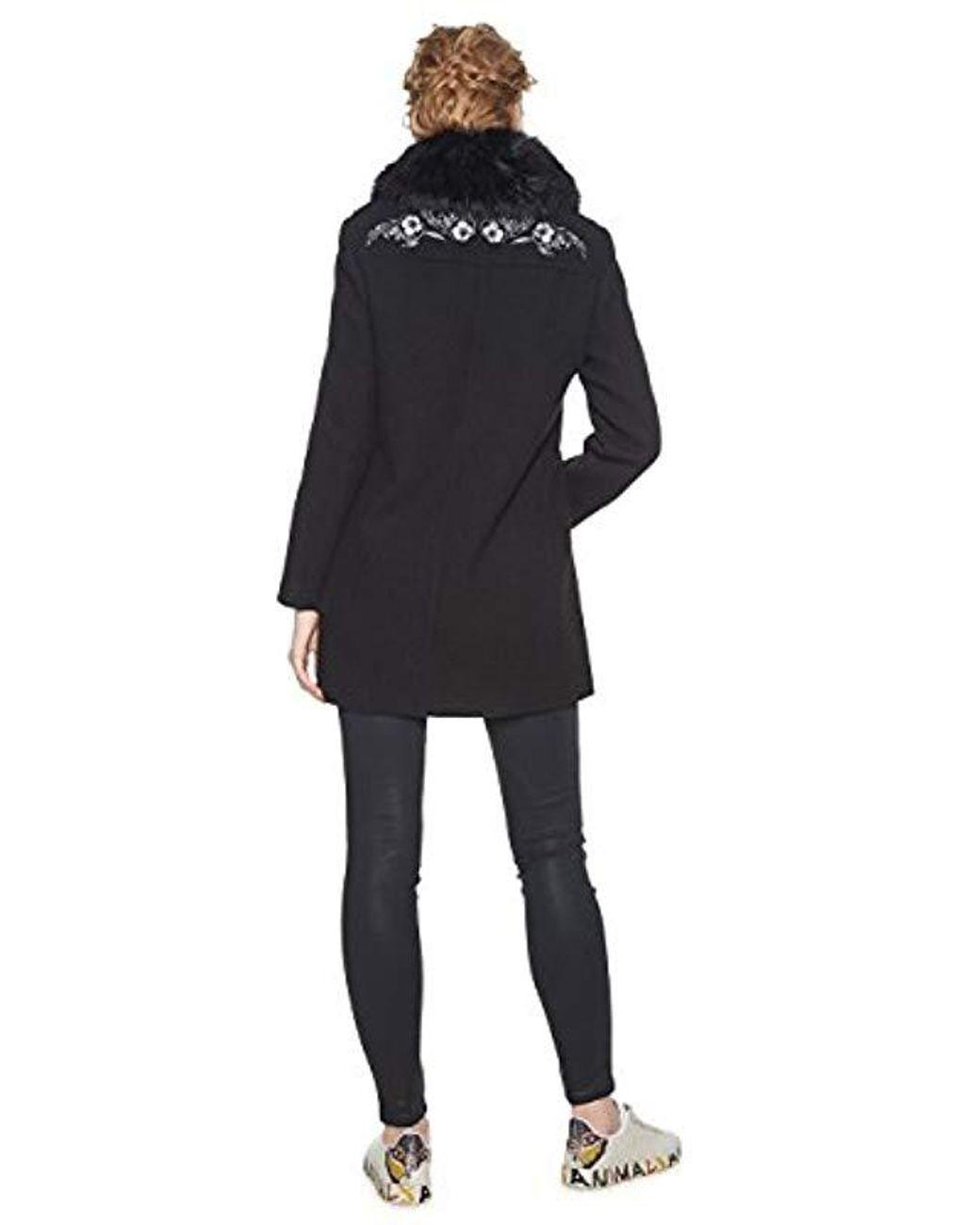 Desigual ABRIG/_Coat Giubbotto Donna