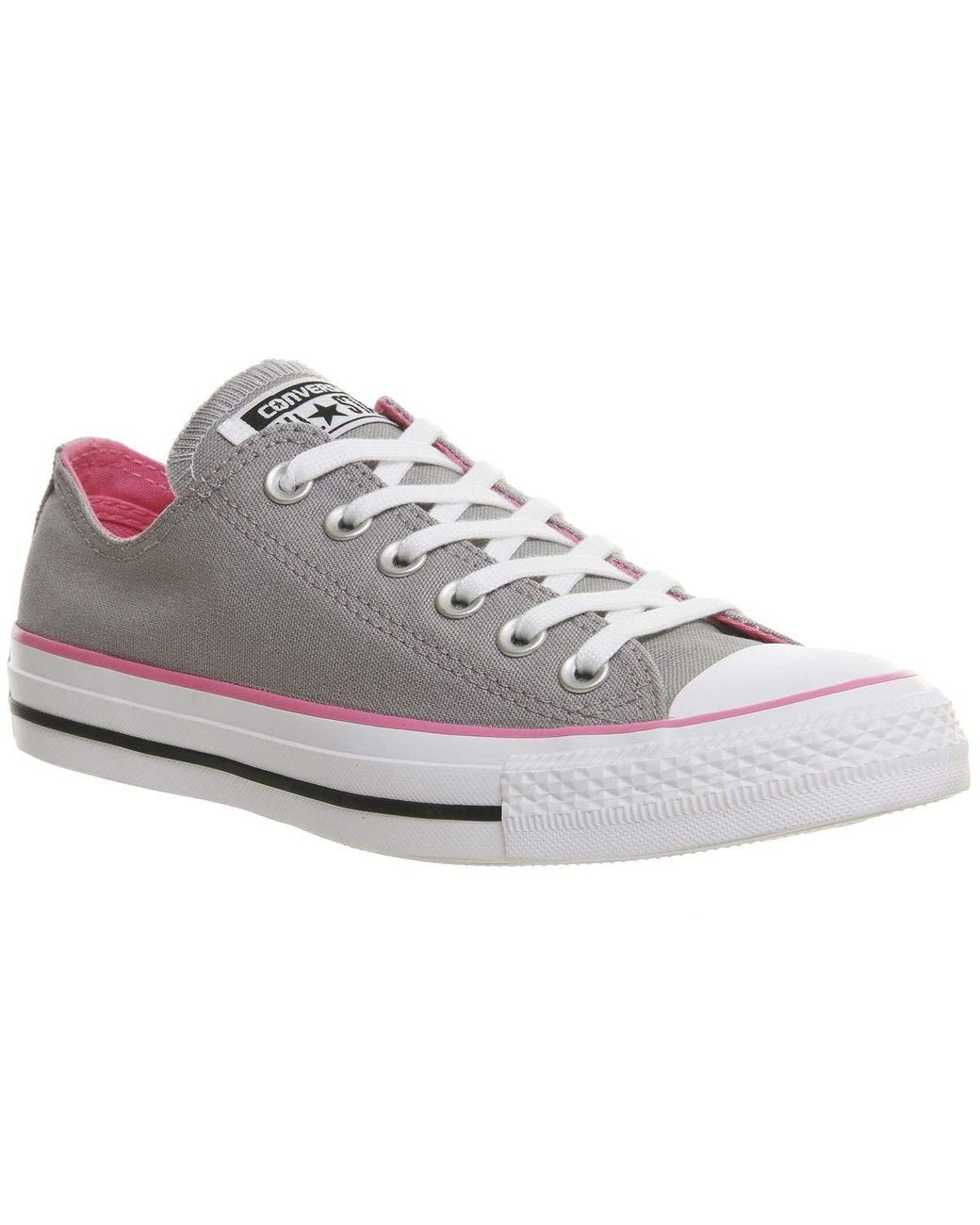 Converse Canvas All Star Low Grey Pink