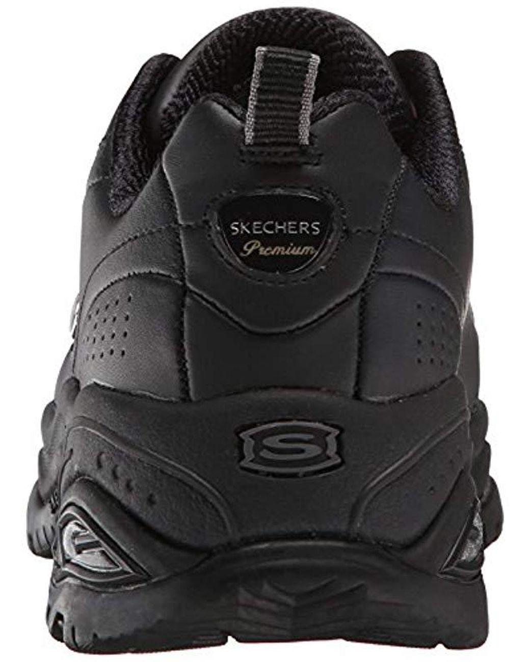 skechers premium black