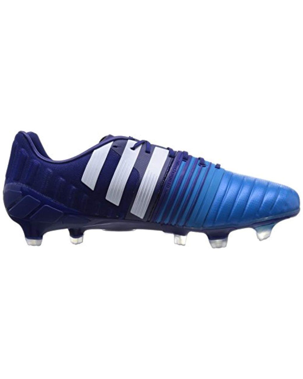 87fd6d4616352 Men's Blue Nitrocharge 1.0 Firm Ground, Football Boots