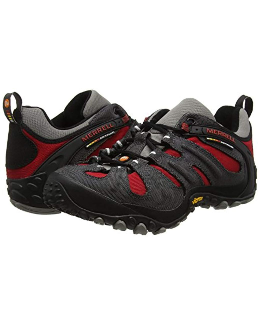 Merrell Rubber Cham Wrap Slam Low Rise Hiking Boots for Men