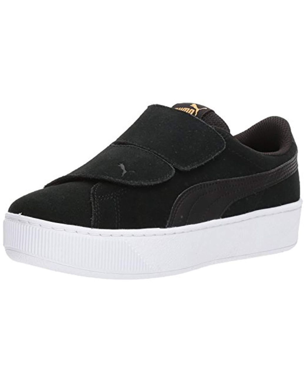 finest selection 957a0 a14be Women's Black Vikky Platform Velcro Sneaker