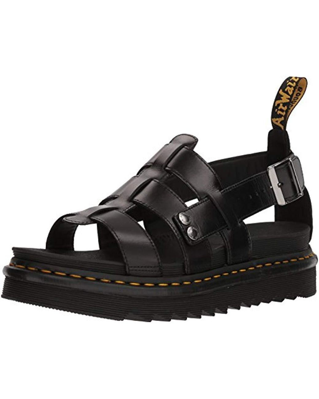Black Unisex Adults' Terry Open Toe Sandals