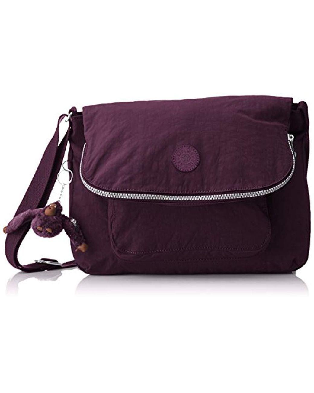 Sac Kipling bordeaux violet