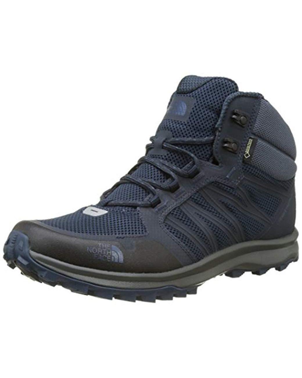 fd8d9c1c1 Men's Blue Litewave Fastpack Mid Gore-tex High Rise Hiking Boots