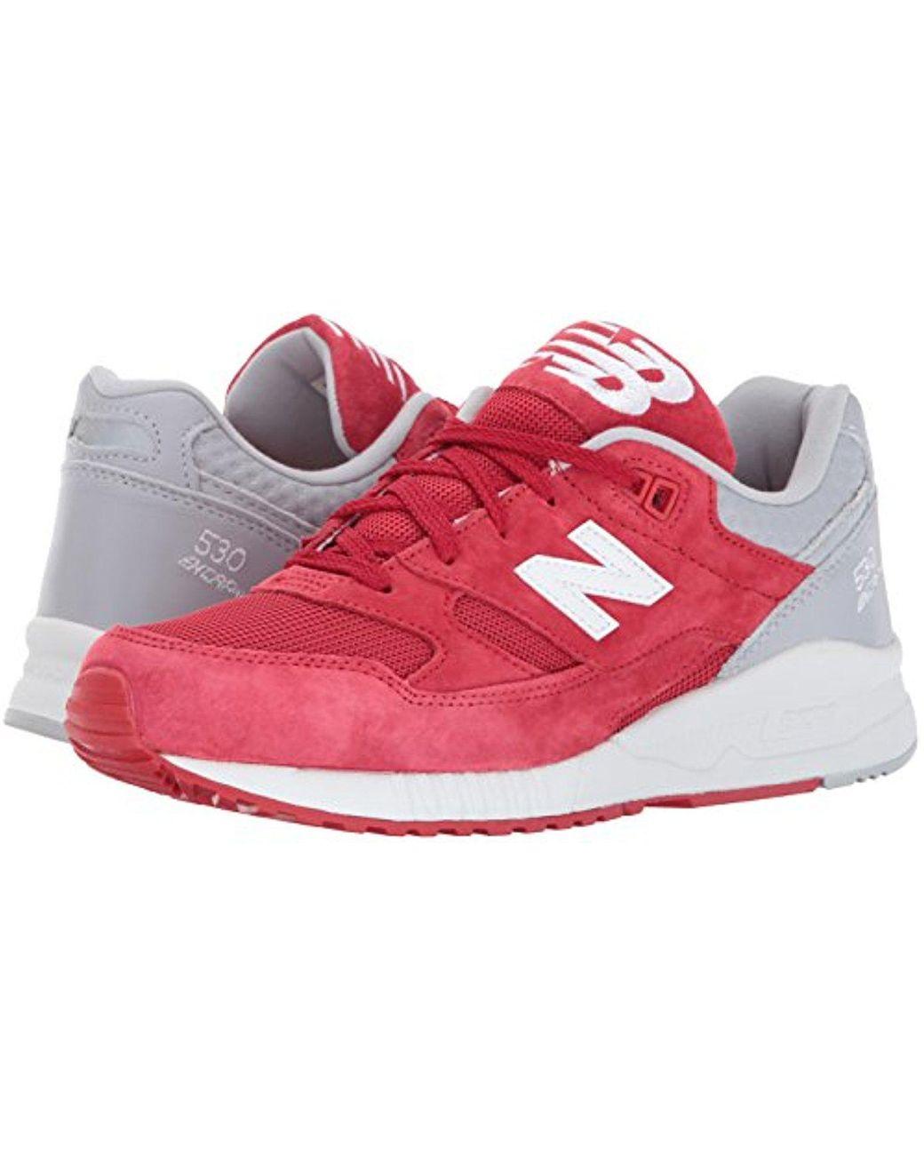 excepcional gama de estilos y colores vende tienda de descuento New Balance Rubber M530 Trainers in Red/Grey (Red) for Men - Save ...