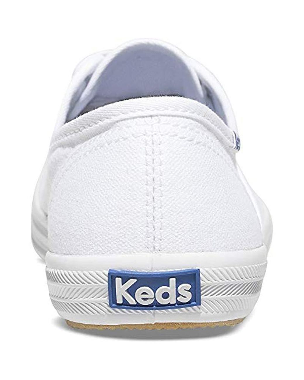 914a06dae4a Lyst - Keds Champion Original Canvas Sneaker in White