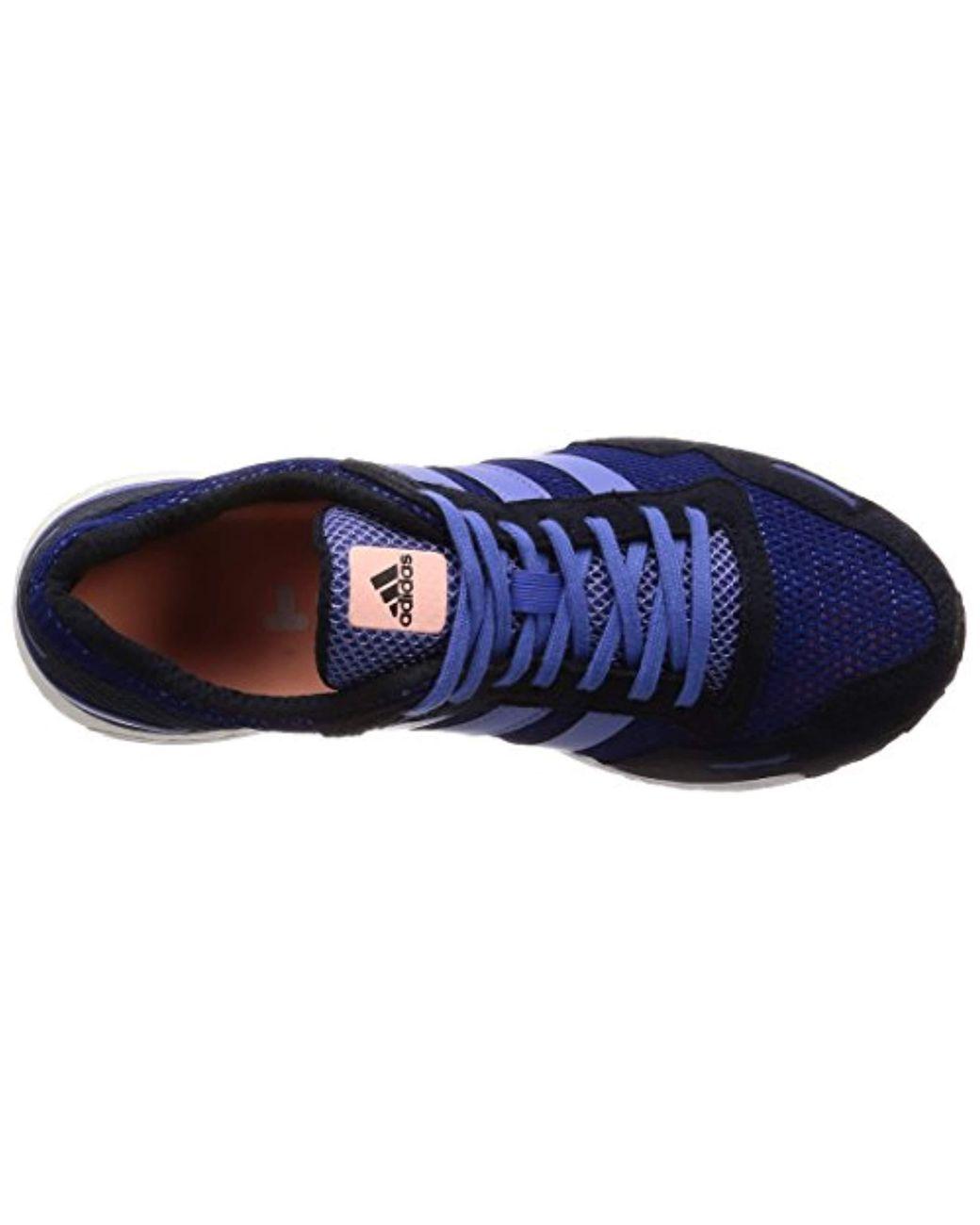 Shoes 3 Lyst Adidas Adizero W Training Blue Adios In rCQBoWdxe