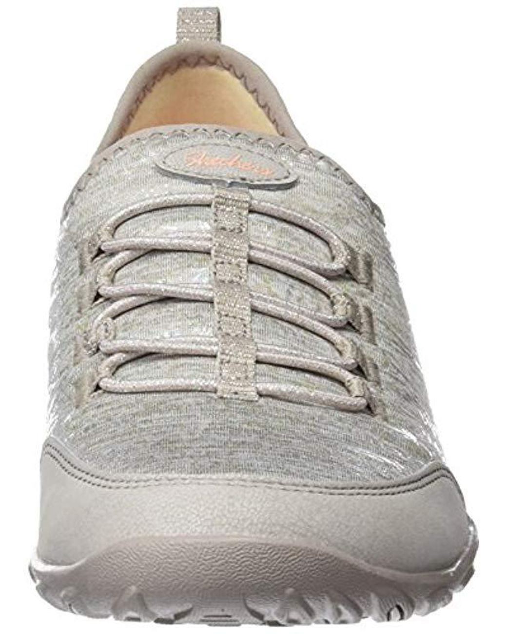 6 UK Taupe Skechers Womens 23119 Trainers Beige