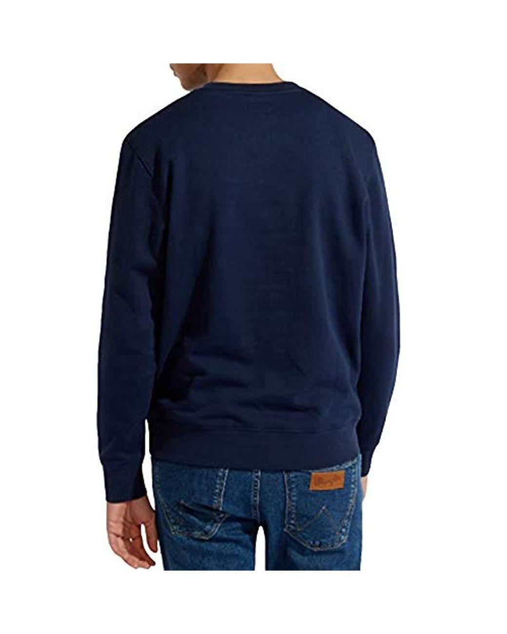 Wrangler Mens Wnc Crew Sweatshirt